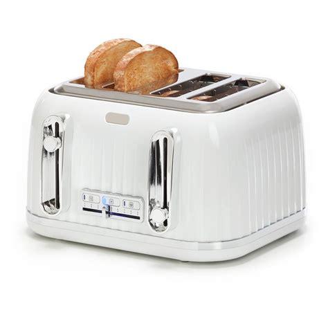 4 Slice Euro Toaster  White Kmart