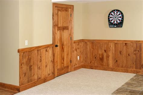 Knotty Pine Beadboard : 3 Panel Knotty Pine Interior Door With 1x8 Tongue & Groove