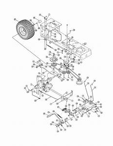 Mtd Model 13ax615h730 Lawn  Tractor Genuine Parts