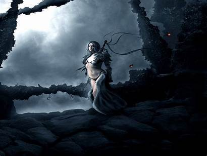 Warrior Dark Fantasy Warriors Wallpapers Background Wallpapersafari