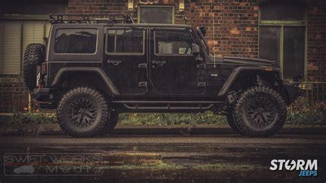 modified 4 door jeep wrangler 2016 jeep wrangler 4 door custom mod storm 10 modifiedx