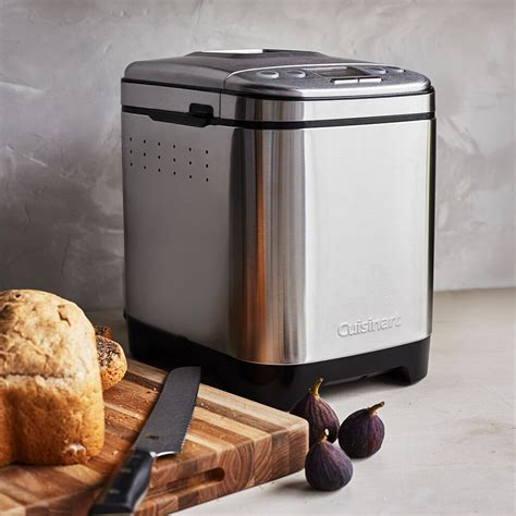 By default, the machine is set to a medium crust color. Cuisinart Compact Bread Maker Recipes : Cuisinart Cbk 110 Compact Automatic Bread Maker Quick ...
