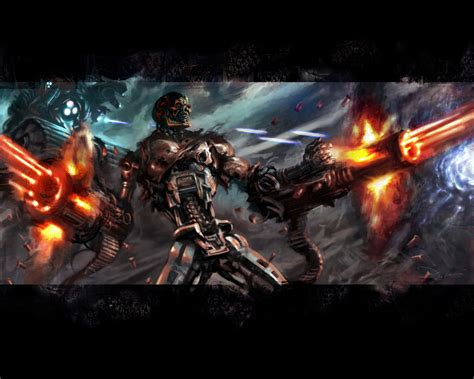 movies wallpapers terminator  rise   machines pictures
