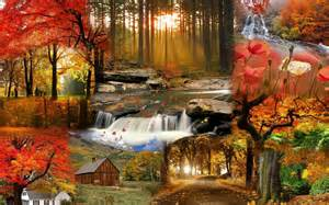 Autumn Scene Fall Desktop