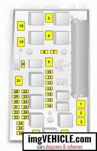 Opel Zafira B Fuse Box Diagrams  U0026 Schemes
