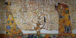 Arbre De Vie Deco : gustav klimt l 39 albero della vita 1909 riproduzione in stampa d 39 arte 100 x 50 cm ~ Dallasstarsshop.com Idées de Décoration
