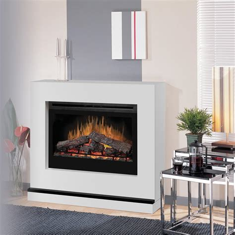 dimplex contemporary convertible 45 inch electric fireplace white bspc 3033 con
