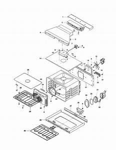 Cavity Diagram  U0026 Parts List For Model Hbl546auc Bosch