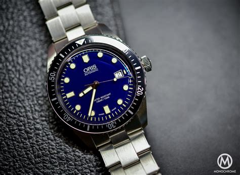 Blue Dive Watches - introducing oris divers sixty five now in 42mm with