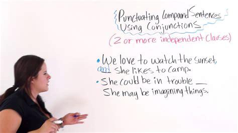 english punctuation punctuating compound sentences