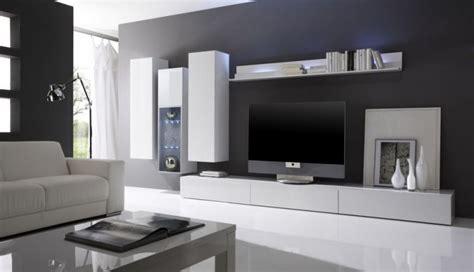 canapé gaverzicht ensemble salon moderne laqué blanc quot gladys quot composition n 4
