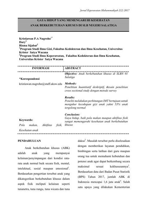JURNAL ANAK BERKEBUTUHAN KHUSUS PDF DOWNLOAD
