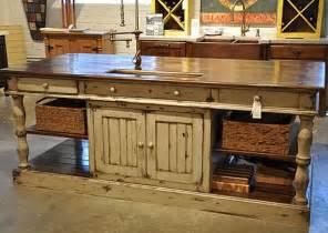 furniture style kitchen island best 25 farmhouse kitchen island ideas on pinterest kitchen island farmhouse kitchens and