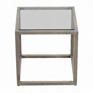 Quality tables on sale for Glass cube coffee table