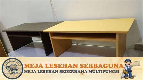 membuat meja belajar lesehan anak meja lantai minimalis