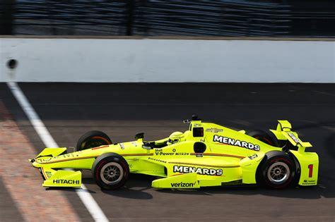 Simon Pagenaud, Team Penske Chevrolet At Indianapolis