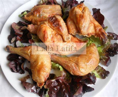 cuisine lalla les secrets de cuisine par lalla latifa poulet cuit au sel