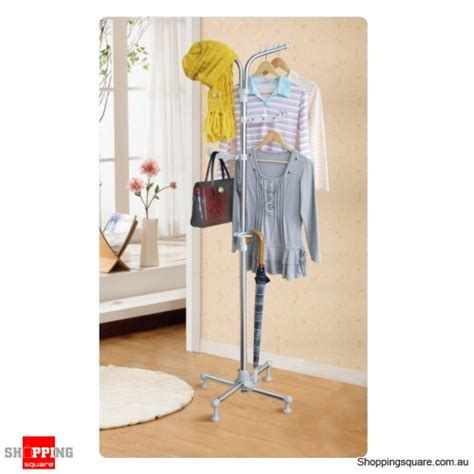 Decorative Clothes Rack Australia by Stainless Steel Portable Clothes Rack Hang Coats Hats