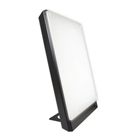 10000 Light Box by Boxelite 10 000 Bright Light Therapy Light Box Black