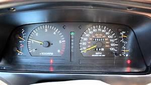 Toyota Land Cruiser Dash Start Up Fj80