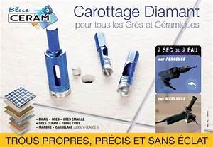 Percer Dans Du Carrelage : foret diamant pour le percage du carrelage et des gr s ~ Dailycaller-alerts.com Idées de Décoration