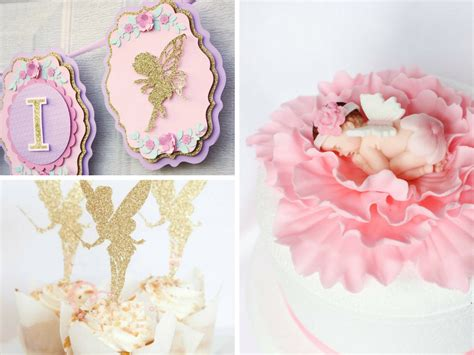 fairy themed baby shower decorations  party favors