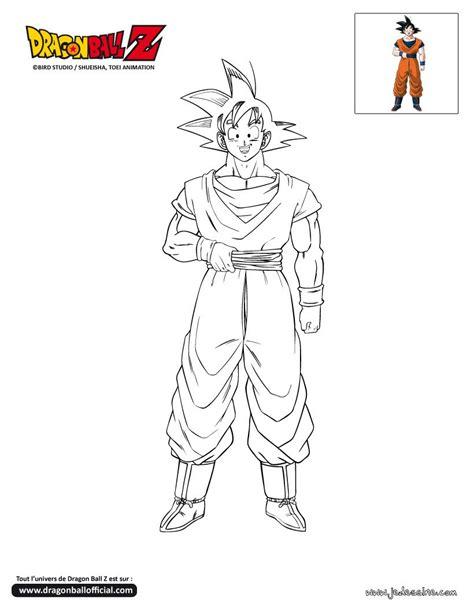 Coloriage Dragon Ball Z Gogeta