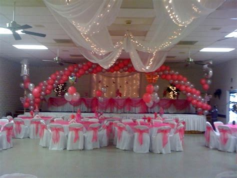 Salon Decorating Ideas For Quinceaneras by Quinceanera Decorations Gala Rental Quinceanera