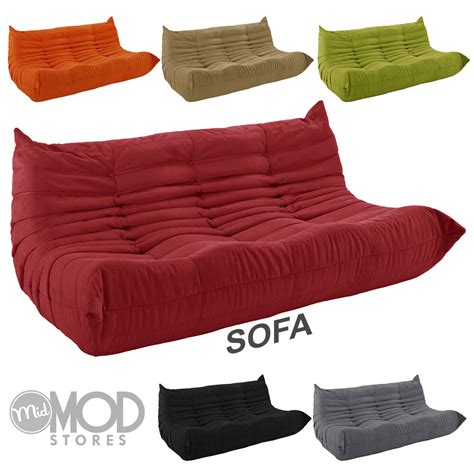 Downlow Loveseat downlow sofa mid century sofa modern sofa fabric low