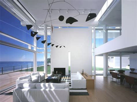 Southern California Interiors by Southern California House Richard Meier Partners