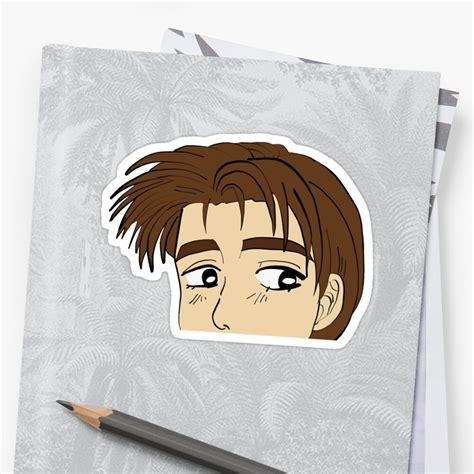 initial d takumi fujiwara sticker by biancabarrales