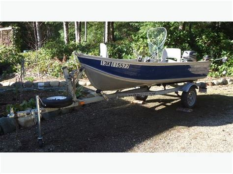 Fishing Boat And Motor Packages by 12 Foot Fishing Boat Motor Trailer Package Merville