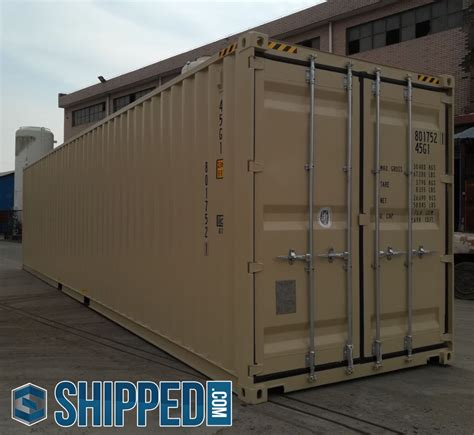 sale  ft   trip high cube steel shipping