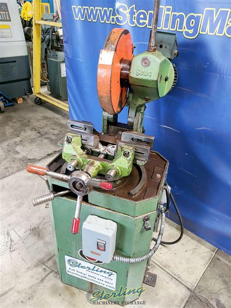 scotchman manual coldsaw cold carbide chop