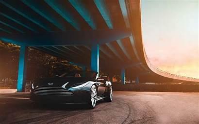 Luxury Aston Martin Cars Bridge 4k Ultra