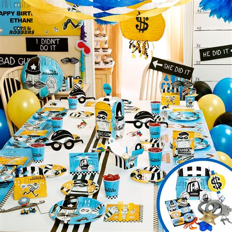 cops  robbers kids party decorations cops  robbers