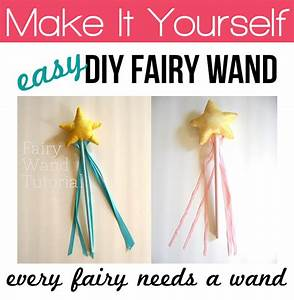 DIY Fairy Wand Tutorial - Andrea's Notebook