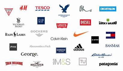 Brands Clothing Symbols Logos Clothes Apparel Company