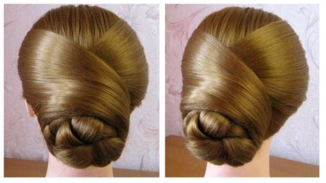tuto coiffure simple chignon 233 l 233 gant facile 224 faire