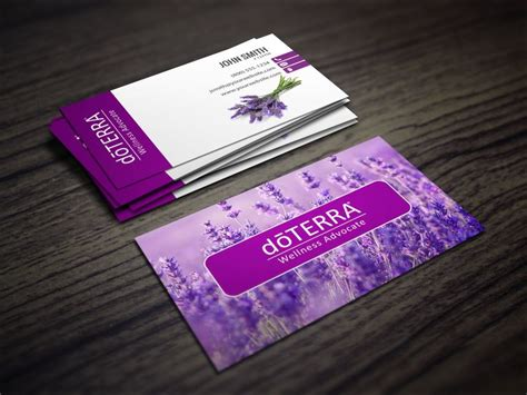 doterra business card template image collections