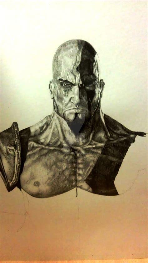 God Of War Kratos 4 By Parisvasiliadis On Deviantart