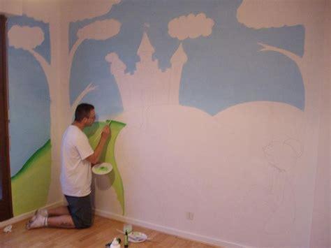 peinture paillet馥 pour chambre schön mur chambre fille on decoration d interieur moderne fresque murale ado paillet gris bleu b
