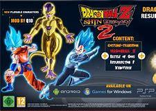 Dragon ball budokai tenkaichi 2 psp download