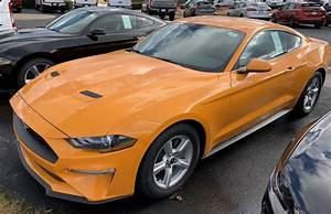 Orange Fury 2019 Mustang - Paint Cross Reference