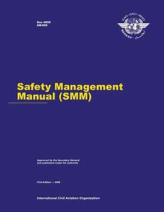 Icao Doc9859 Safety Management Manual  1st Edition  By