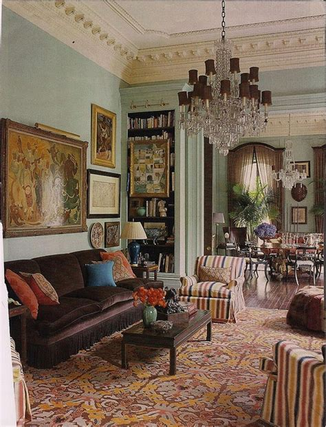 english country living room  dry oyster jolly ole