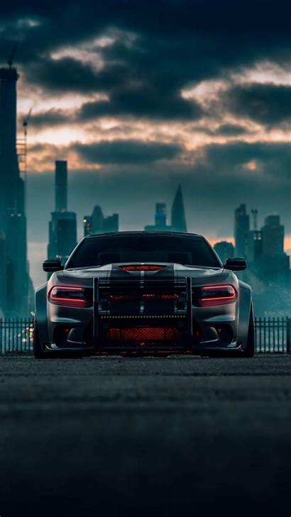 Charger Dodge Hellcat Iphone Srt Wallpapers Cars