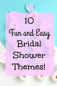 10 Fun and Easy Bridal Shower Themes - Val Event Gal