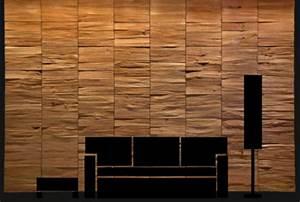 Mur En Bois Intérieur Decoratif : une d coration en bois pour le mur ~ Teatrodelosmanantiales.com Idées de Décoration
