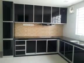 inexpensive kitchen ideas black aluminium kitchen cabinets trendyoutlook